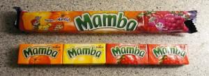 Mamba mit zweifachem Erdbeerinhalt