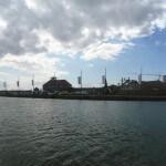 Panorama: Deich Bremerhaven