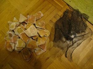 Alle Mosaik Steine vom Netz entfernt