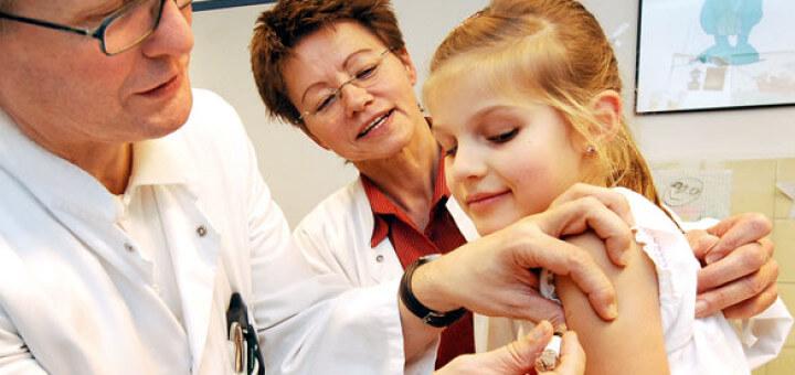 Nur ein kleiner Pieks - die Impfung