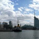 > 180° Panorama: Neuer Hafen Bremerhaven